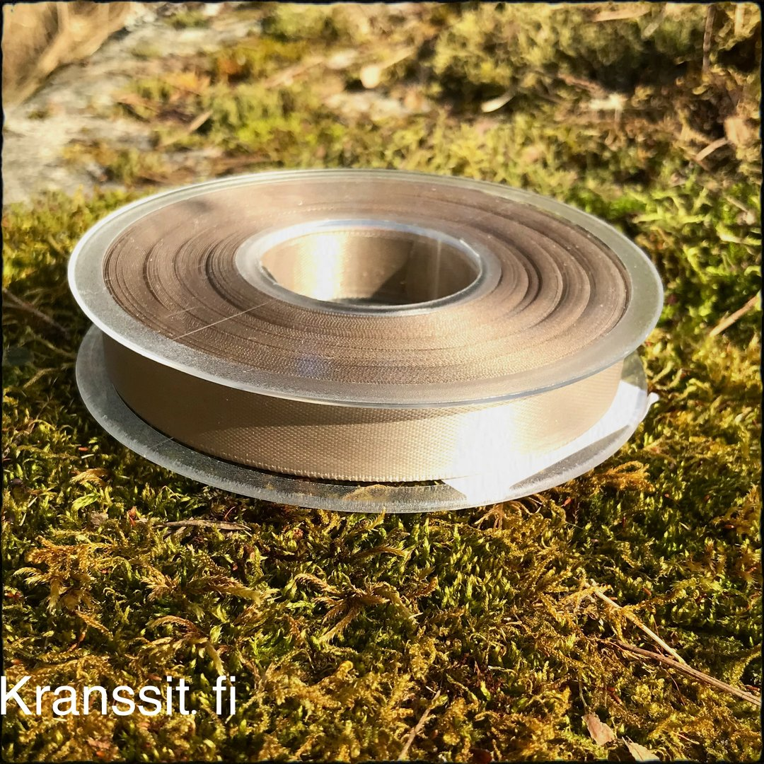 Satiininauha toffee 15mm